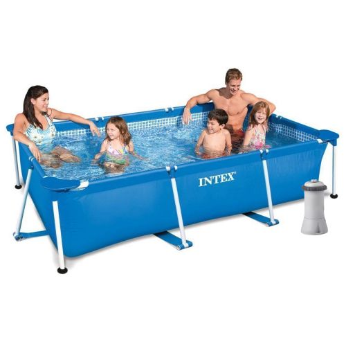 Каркасный бассейн Intex 28272 - 4, 300 х 200 х 75 см (2 006 л/ч, тент, подстилка)