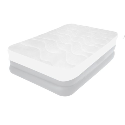 Наматрасник (чехол-наматрасник) IntexPool 69641, для надувной кровати одноместных 90 х 200 х 30, белый