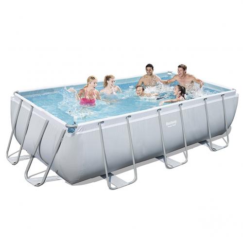Каркасный бассейн Bestway 56441 - 0 (чаша, каркас), 404 х 201 х 100 см