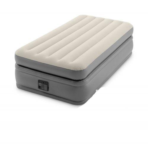 Надувная кровать Intex 64162, 99 х 191 х 51 см, встроеный электронасос. Односпальная