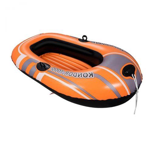 Одноместная надувная лодка Bestway 61099 NE, Kondor 1000 (Hydro Force), 145 х 84 см. 2-х камерная