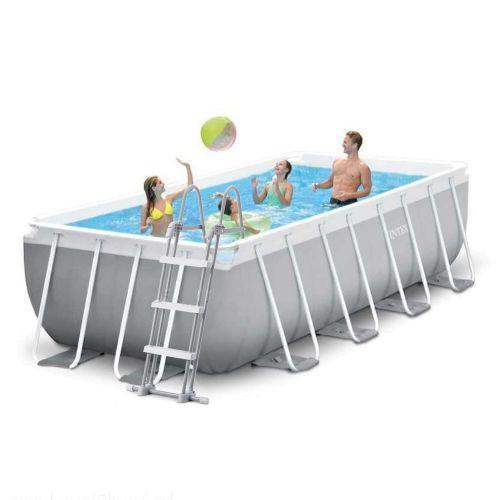 Каркасный бассейн Intex 26788 - 1, 400 x 200 x 100 см (лестница)