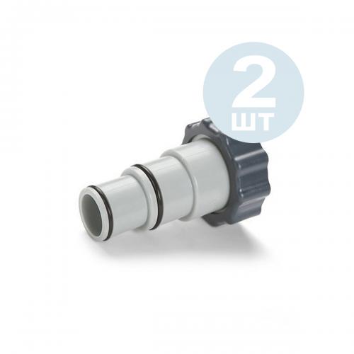 Переходник Intex 10849-2 для адаптирования шланга с 32 мм→38 мм, 2 шт