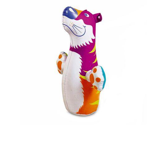Надувная игрушка - неваляшка Intex 44669 «Тигр», 98 х 44 см