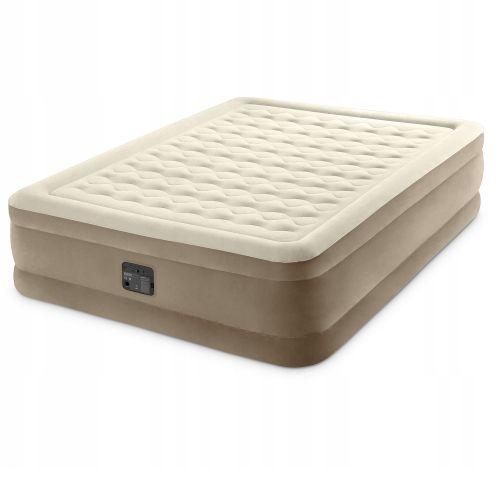 Надувная кровать Intex 64428, 152 х 203 х 46 см, встроенный электрический насос. Двухспальная