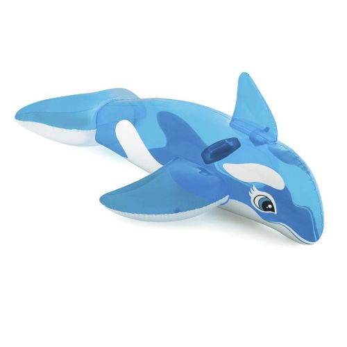 Детский надувной плотик для катания Intex 58523 «Дельфин», 152 x 114 см
