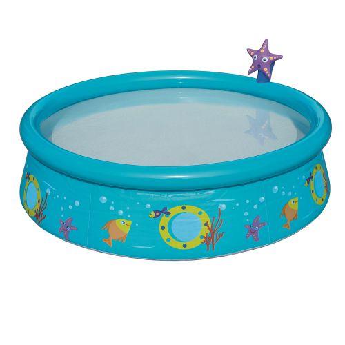 Детский надувной бассейн Bestway 57326 «Пчелки», 152 х 38 см, голубой