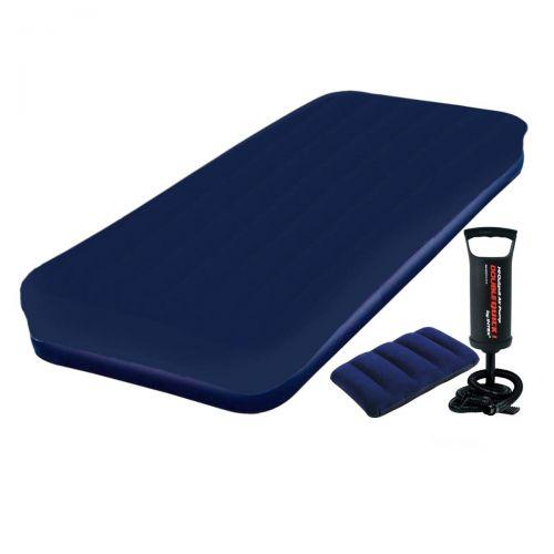 Надувной матрас Pavillo Bestway 67000-3, 76 х 185 х 22 см, с наматрасником-чехлом, насосом, подушкой. Одноместный