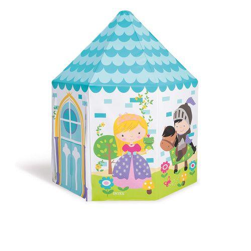 Детский игровой домик Intex 44635  «Принцесса», 104 х 104 х 130 см